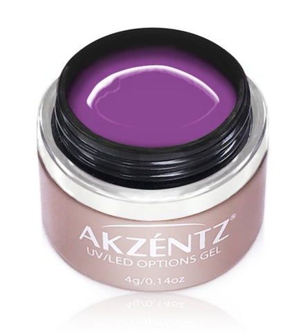 Akzentz Options Color - Majestic Violet - The Nail Hub