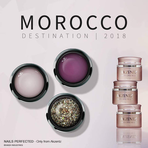 Akzentz Options Color - Morocco Collection - The Nail Hub