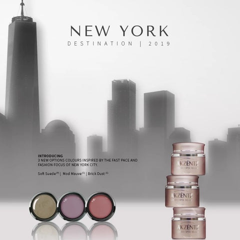 Akzentz Options Color - New York Collection - The Nail Hub