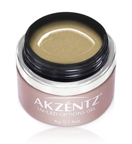 Akzentz Options Color - Sparkles Gold - The Nail Hub