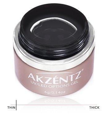 Akzentz Options Soak-Off Gel - Opti-Bond Base Coat - The Nail Hub