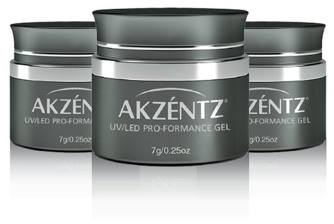 Akzentz Pro-Formance Hard Gel - Formation White - The Nail Hub