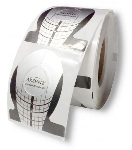 Akzentz Pro-Tab Nail Forms - The Nail Hub