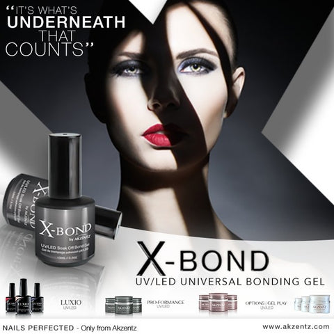 Akzentz X-Bond Universal Base Coat - The Nail Hub