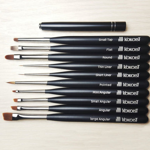Kokoist Gel Brushes - The Nail Hub