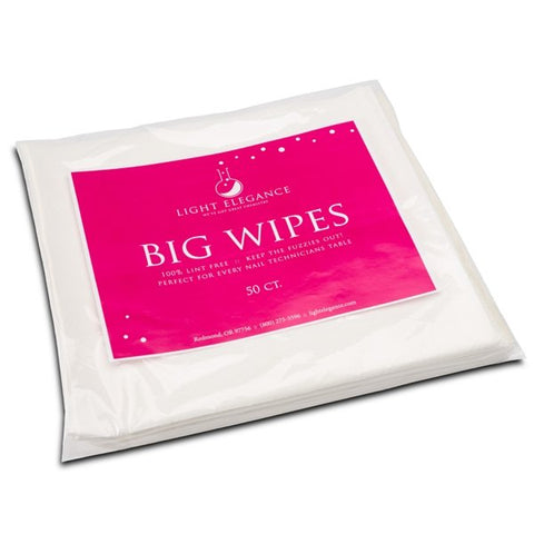 Light Elegance - Big Wipes Table Towels - The Nail Hub
