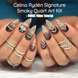 Light Elegance Celina Ryden Signature Smoky Quartz Art Kit - The Nail Hub