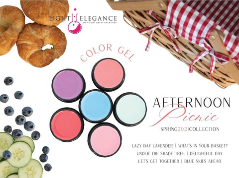 Light Elegance Color Gel - Afternoon Picnic Collection - The Nail Hub