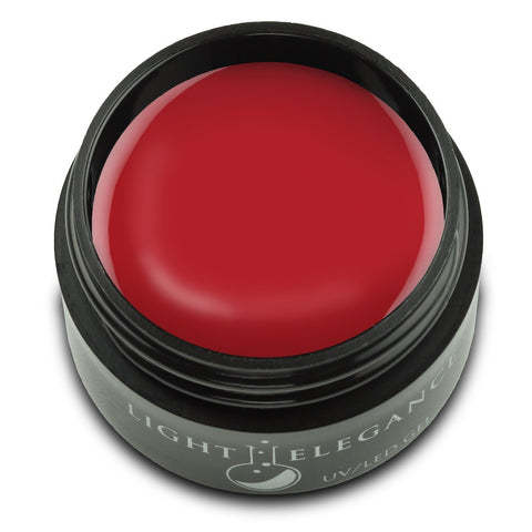 Light Elegance Color Gel - Unruly Red (pre-order) - The Nail Hub