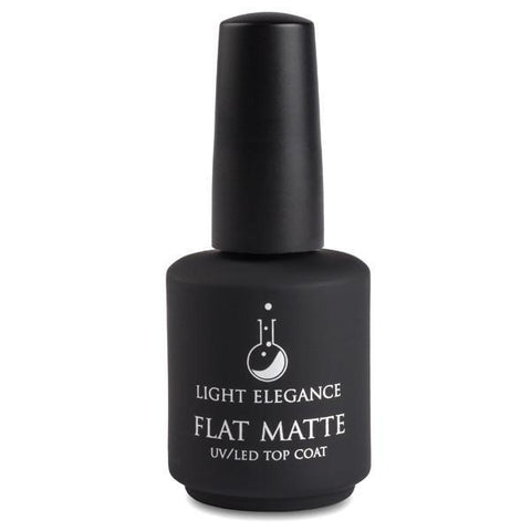 Light Elegance - Flat Matte Top Coat - The Nail Hub