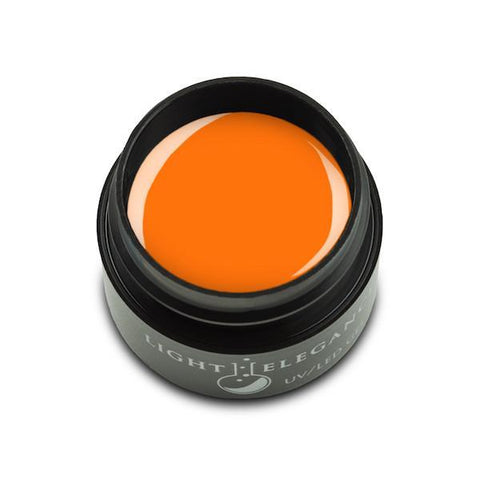 Light Elegance Gel Paint - Neon Orange - The Nail Hub