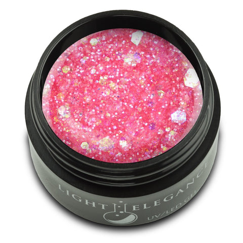 Light Elegance Glitter Gel - A Peony for Your Thoughts - The Nail Hub