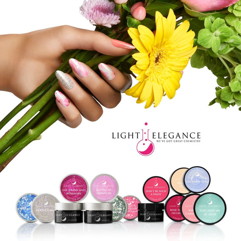 Light Elegance Glitter Gel - Blossom & Bloom Collection - The Nail Hub