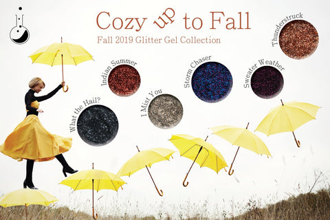 Light Elegance Glitter Gel - Cozy Up To Fall Collection - The Nail Hub