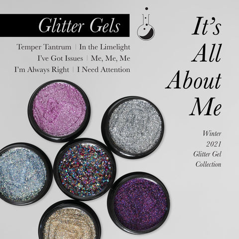 Light Elegance Glitter Gel - It's All About Me Collection (pre-order) - The Nail Hub