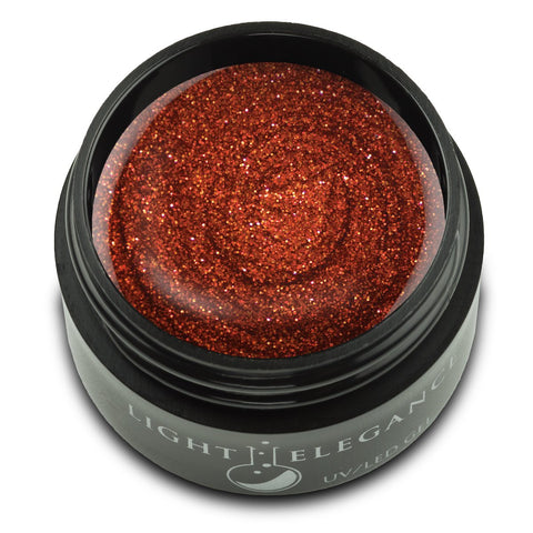 Light Elegance Glitter Gel - Paprika (pre-order) - The Nail Hub