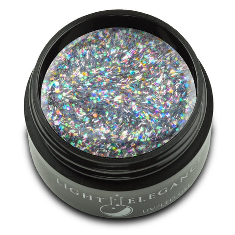 Light Elegance Glitter Gel - Rolling In Glitter - The Nail Hub
