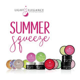 Light Elegance Glitter Gel - Summer Squeeze Collection - The Nail Hub