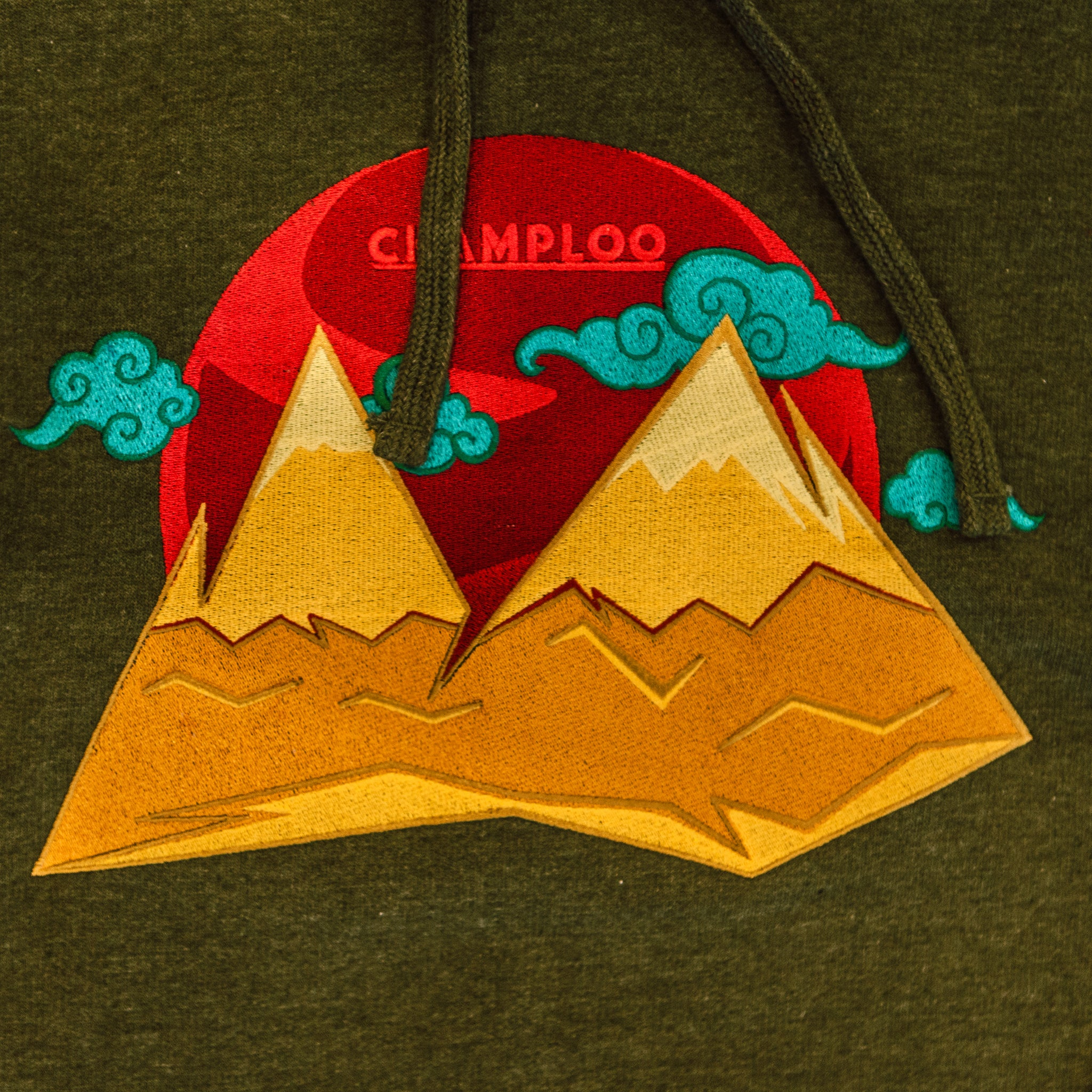 "CHAMPLOO Shuri Mountain ""Dusk"" Hooded Sweatshirt"