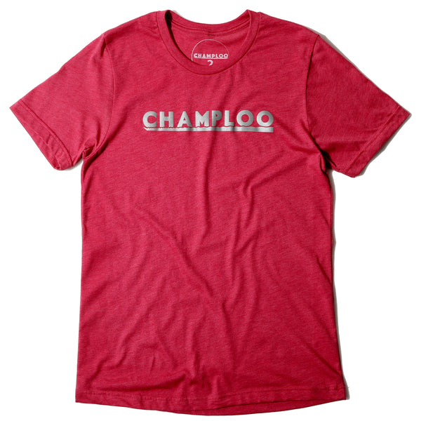 Champloo Tee Sunset Panel #4 -Raspberry-