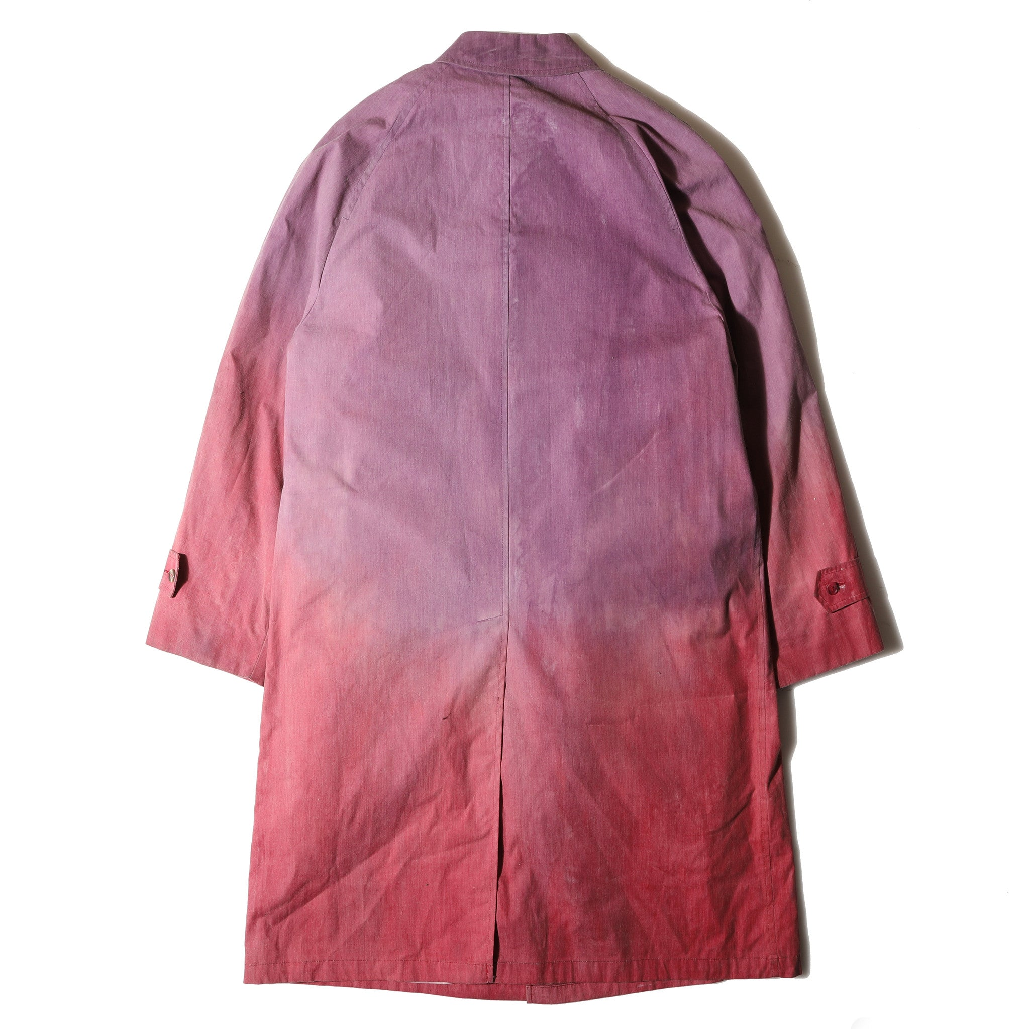 "Champloo Trench Coat ""Red Dawn"""