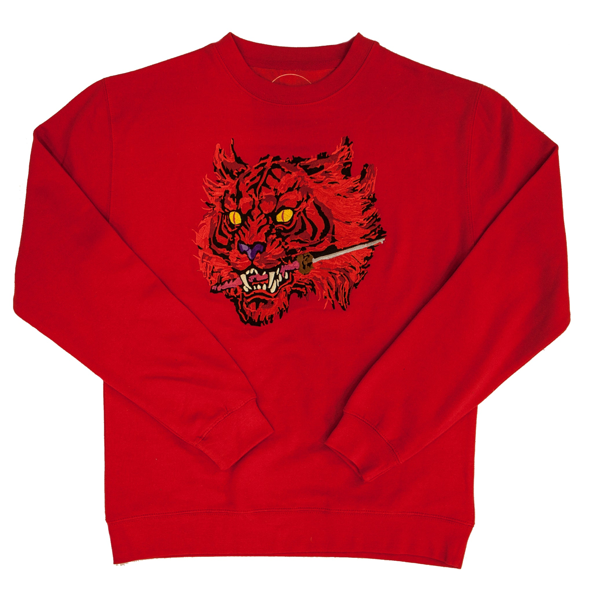 "CHAMPLOO ""Ruby Tiger"" Crew Neck"