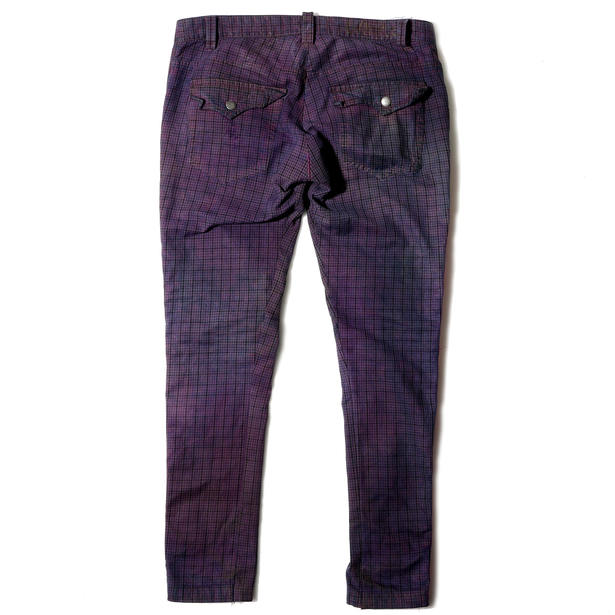 "Champloo Trouser ""Pink Dragon"""