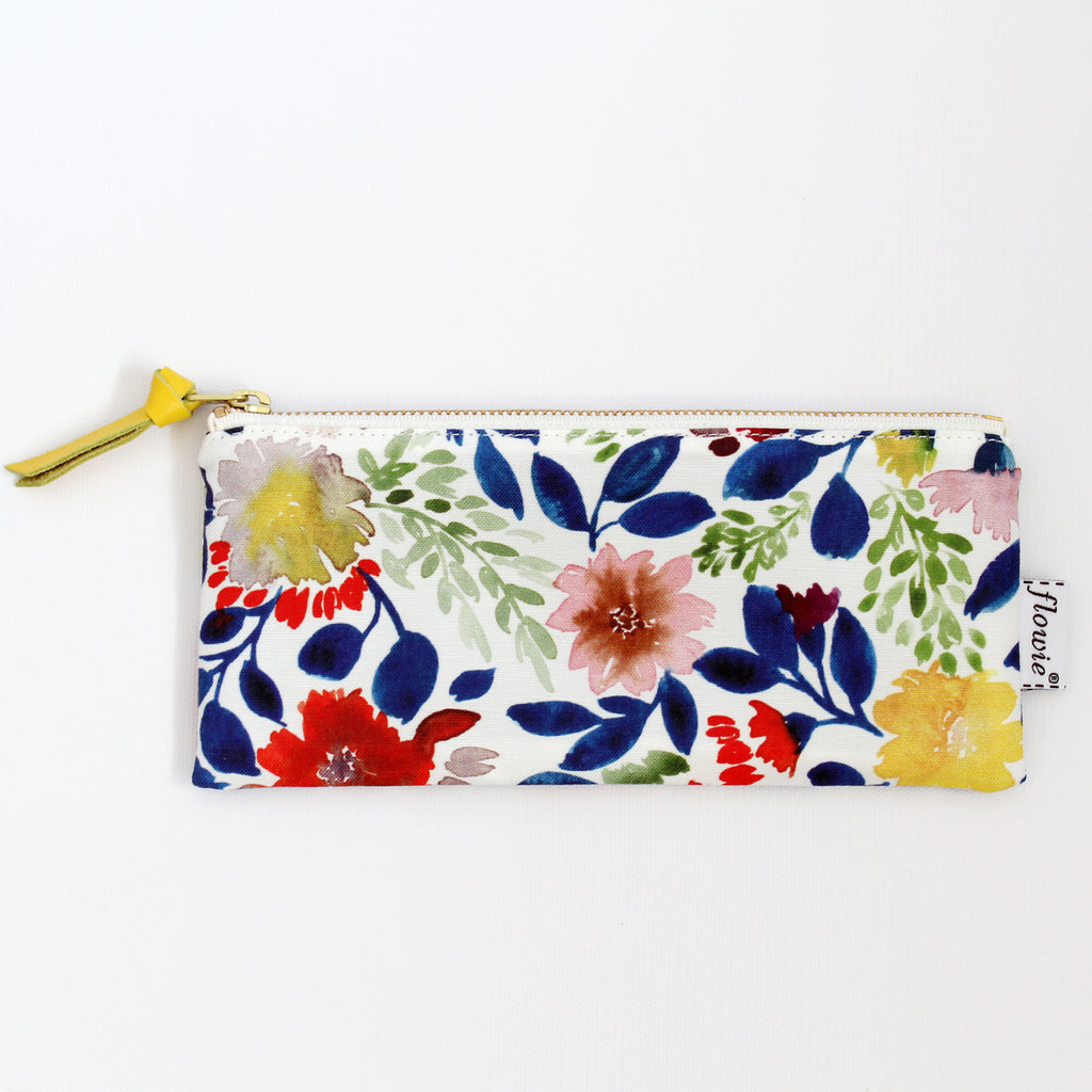Pencil case pouch, Camila, blue