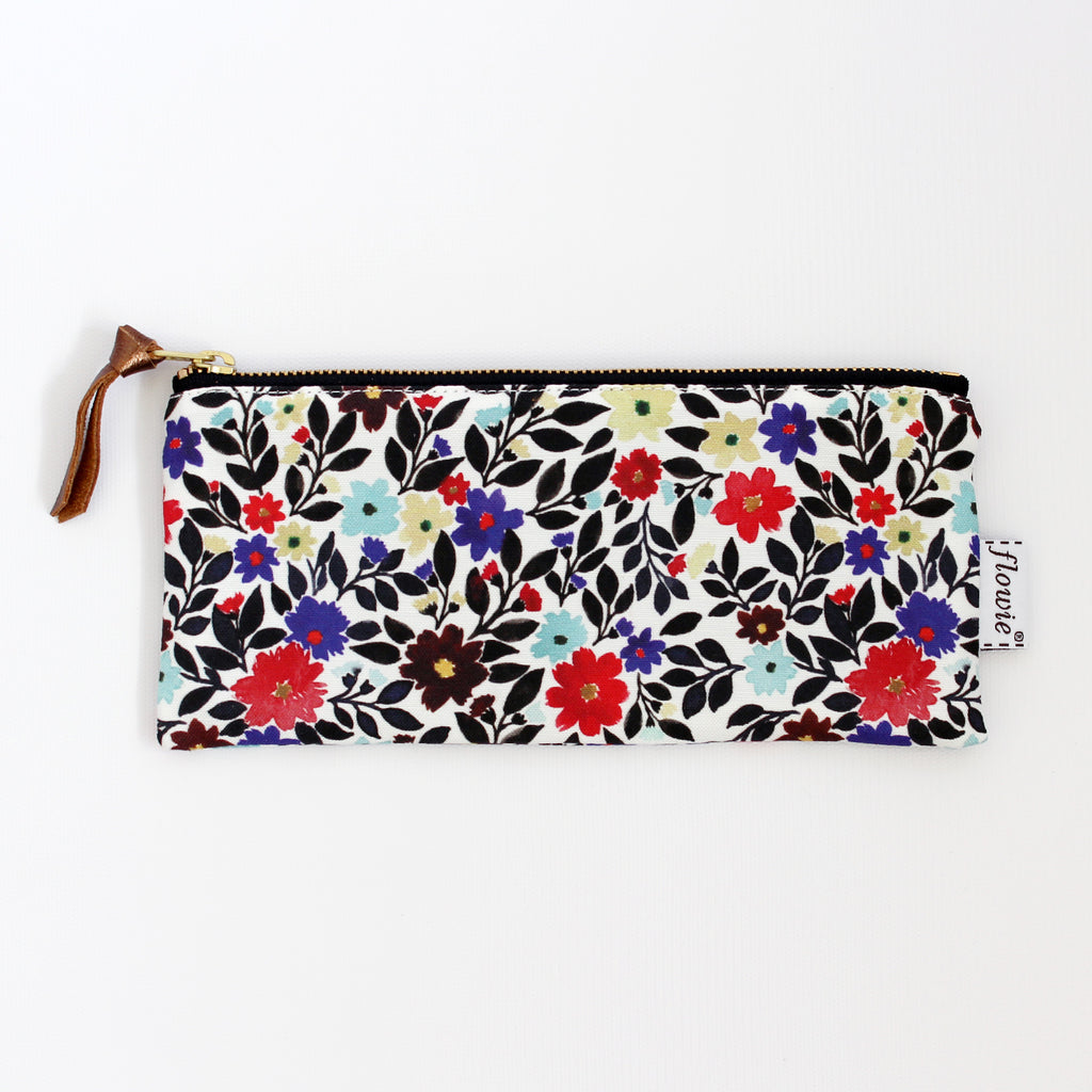 Pencil case pouch, Gemma, black