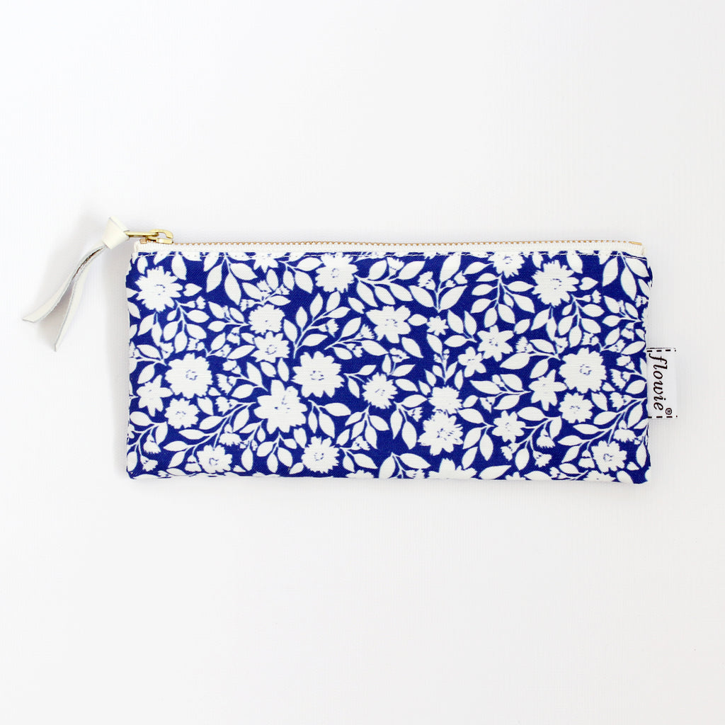 Pencil case pouch, Gemma, blue