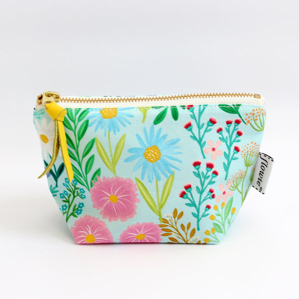 Zipper Pouch, Imaginary Field, mint