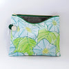 Large Zipper Pouch, Morning Glory