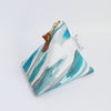 Triangle Zipper Pouch, Sea