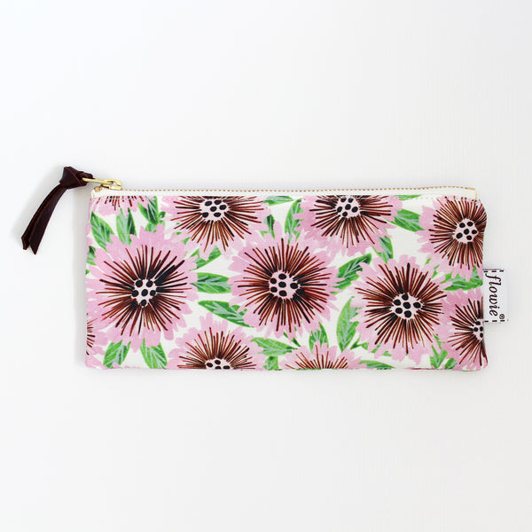 Pencil case pouch, Stella, pink/green