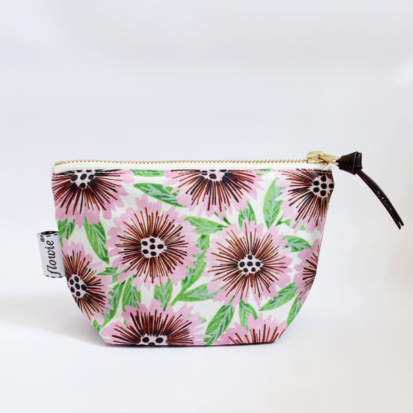 Zipper Pouch, Stella, pink/green