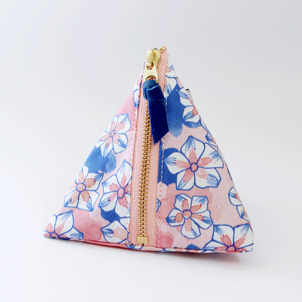 Triangle Zipper Pouch, Anna