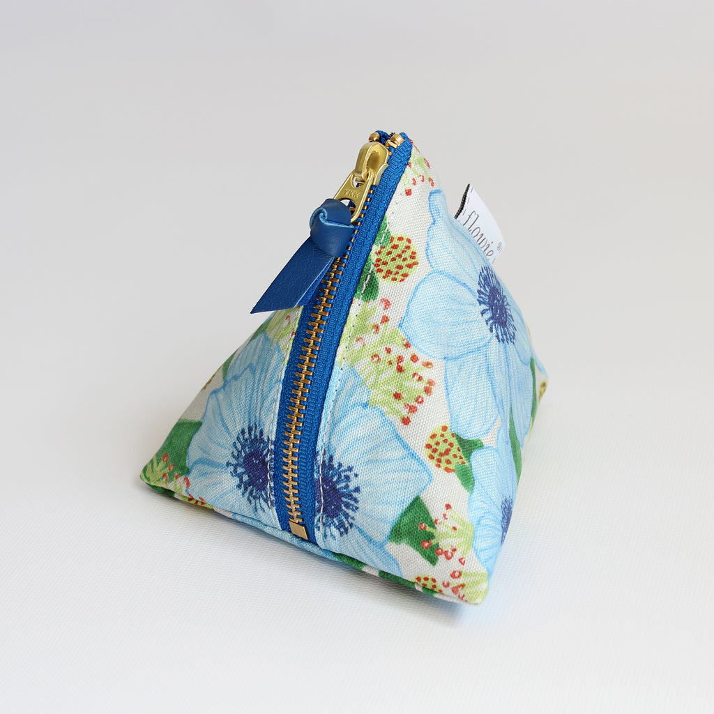 Triangle Zipper Pouch, Zoe