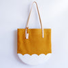 Tulip Tote, golden orange