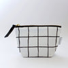 Zipper Pouch, Grid