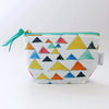 Zipper Pouch, Triangle