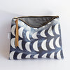 Large Zipper Pouch, Crescent