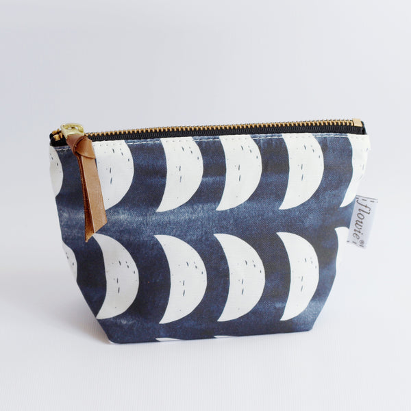 Zipper Pouch, Crescent