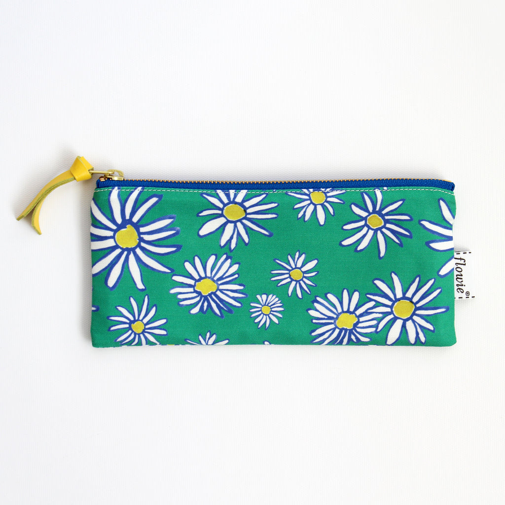 Pencil case pouch, Daisy
