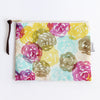 Large Zipper Pouch, Hana