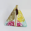 Triangle Zipper Pouch, Hana