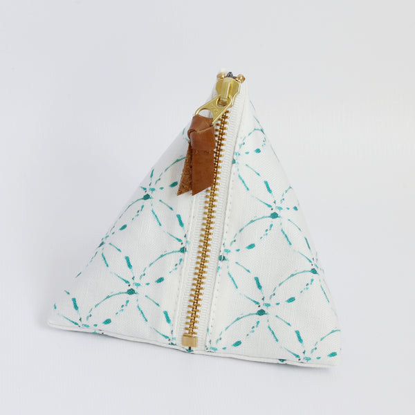 Triangle Zipper Pouch, Kate