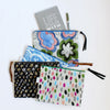 Large Zipper Pouch, Mila