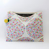 Large Zipper Pouch, Emma
