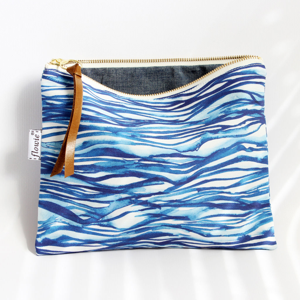 Large Zipper Pouch, Nami