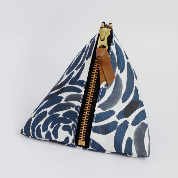 Triangle Zipper Pouch, Naomi